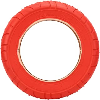 VGEBY Tyre Inflatable Tire 10x2 Red Inflatable Outer Tyre Rubber Tire Replace for Electric Scooter