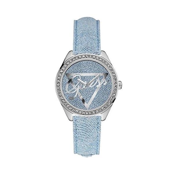 Guess–Reloj de Pulsera analógico para Mujer Cuarzo Piel w0456l10