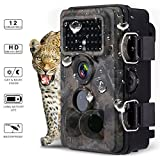 Powerextra Caméra de Chasse 1080P 16MP IP66 Grand Angle 42...