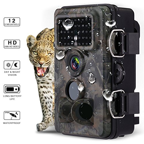 Powerextra Caméra de Chasse 1080P 16MP IP66 Grand...