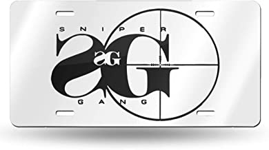 Sniper Gang Rap Music Personalized Custom Novelty Sign Tag Aluminum License Plate 6