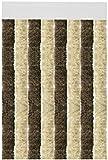 Arsvita Flauschvorhang Türvorhang 56x185 cm in Beige-Braun - viele Variationen