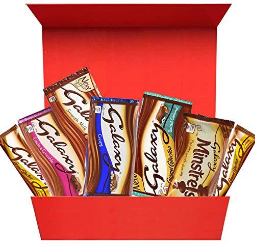 Galaxy Chocolate Selection Geschenkbox für Alle Schokoladenliebhaber