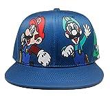 Sombrero de Super maría Niños Adultos Nuevo Anime Super Mario Accesorios de Cosplay Sombreros Luigi Bros Tela cúpula Sombrero Gorra de béisbol niños niñas Cosplay Accesorios