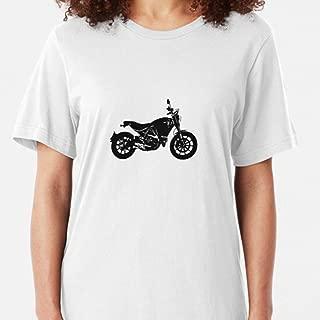 CARMINZ - Ducati Scrambler Black - T-shirt Christmas - Family Christmas Shirt - Merry Christmas Shirt For Women For Man Kid Boy Girl