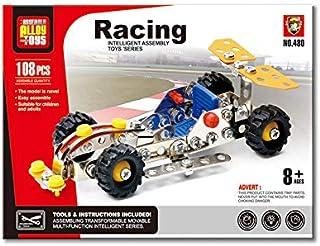 مكعبات بناء للعبة سيارة سباق معدنية، 22-480