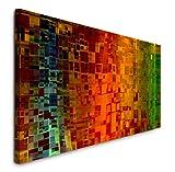 Paul Sinus Art GmbH Abstrakte Kunst 120x 50cm Panorama