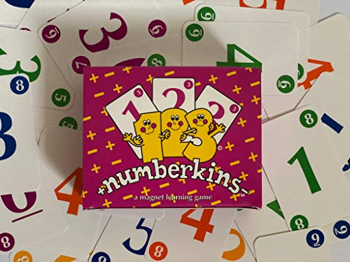 Numberkins+ Addition and Subtraction Card Game - Number Family Sets, Educational Gift for Girls and Boys, Homeschoolers, Kindergarten and up