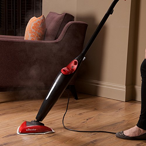 Vileda Steam Mop (UK Version) , Removes 99.9% of Bacteria without Cleaning Chemicals