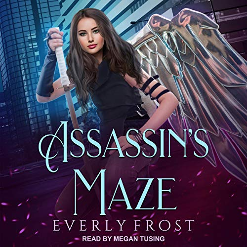 Assassin's Maze audiobook cover art