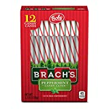 Brach s Red and White Peppermint Candy Canes, 12 ct