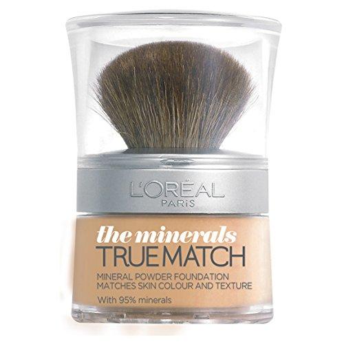 L'Oreal Paris True Match Minerals Grundierung, 6.N Honey, 10 g