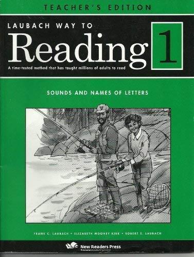 Laubach Way To Reading 1 Sounds And Names Of Letters
