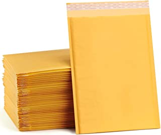 UCGOU 10.5x16 Inch Kraft Bubble Mailers Self Seal Mailing Padded Envelopes Tear-Proof Shipping Bags Pack of 25
