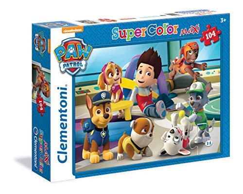 Clementoni 23970 - Paw Patrol Maxi Puzzle, 104 Teile