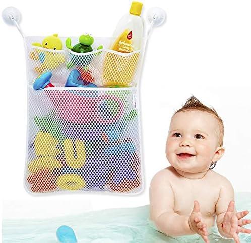 YiMing Bath Toy Organizer Tidy Bathroom Storage Net Mesh Bags Bathtub Mesh Net Baby Toy Storage product image