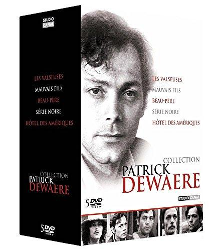 Coffret patrick dewaere : les valseuses ; un mauvais fils ; beau-pere ; hôtel des ameriques, serie noire