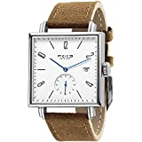 FEICE Sapphire Crystal Square Automatic Watch Classic Bauhaus Watch Minimalist Casual Watches for Men Women Unisex -FM301