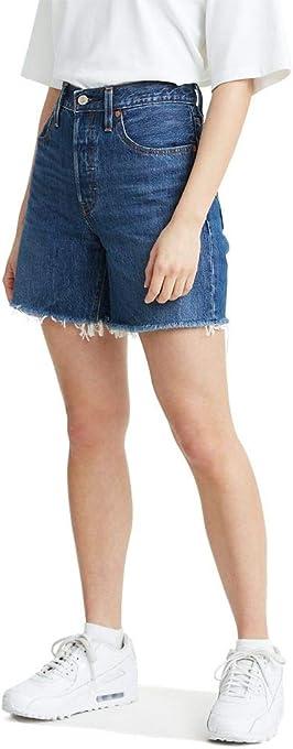 Levi's Women's Premium 501 Mid Thigh Short
