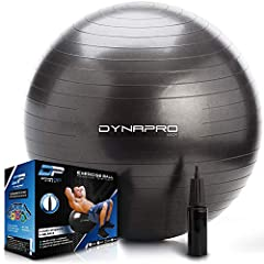 BUILT TO LAST: Get a quick start on optimizing your health -- every box we ship contains an Exercise Ball that inflates using the hand pump that goes with it. Within minutes, you can use it as a stability ball in any kind of fitness training such as ...