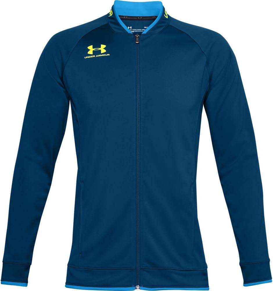 Under Armour Challenger III Jacket, chaqueta de hombre para hacer deporte, ropa de deporte de hombre inspirada en las chaquetas bomber hombre