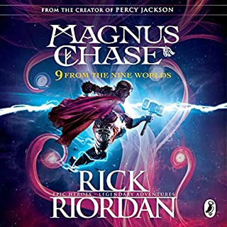 9 from the Nine Worlds     Magnus Chase and the Gods of Asgard              Written by:                                                                                                                                 Rick Riordan                               Narrated by:                                                                                                                                 Stephen Graybill,                                                                                        Devon Sorvari,                                                                                        Nick Chamian,                                    Length: 3 hrs and 4 mins     Not rated yet     Overall 0.0