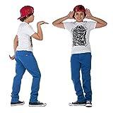 Superslick Kinderhose Slim fit Jungen Jeans Hose mit Stretch Kinder Größe 146-170 (152, blau)