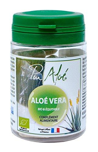 Pur'Aloe - Aloe Vera - Bio -  Complément Alimentaire - 45 Gélules