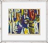 INFINITE PHOTOGRAPHS Foto: Pastorale,Impresiones abstractas,Pantalla,Arte,Grace Hartigan,1953