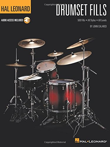 Hal Leonard Drumset Fills: 500 Fills - All Styles All Levels, With Downloadable Audio