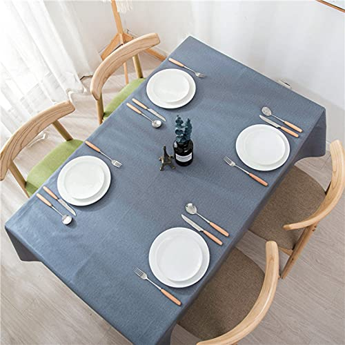 NTtie Tovaglia, per Sala da Pranzo e Cucina, Tavolo in PVC Tinta Unita Impermeabile e Resistente all'olio