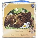 Vervaco - Kit per Realizzare Un Tappeto a Punto Smirne, Motivo: Labrador, Multicolore