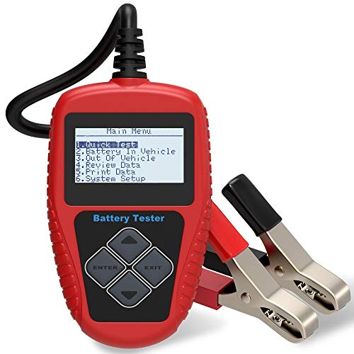 Quicklynks BA101 Battery Tester 100 ~ 2000 Amperios de arranque en frío 12V Battery Load Tester Pruebe directamente el estado de la batería