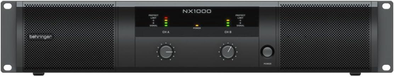 Behringer Ultra-Lightweight Low price Class-D NX1000 Amplifier Popular Power