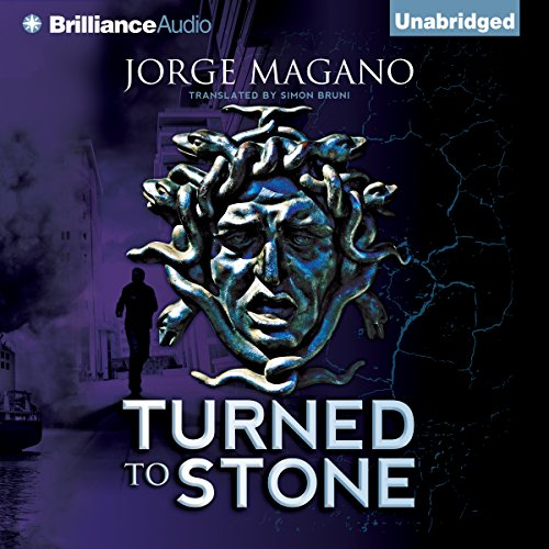 Turned to Stone audiobook cover art