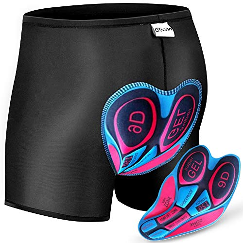 imbottiti ad asciugatura rapida traspiranti Souke Sports Pantaloncini da ciclismo da uomo
