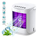 WELTEAYO Portable Air Cooler, Mini Mobile Air Conditioner, 4 in 1 Evaporative Air Cooler Conditioner...