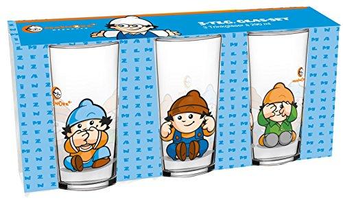 Mainzelmännchen Glas-Set