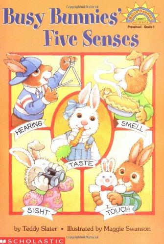 Busy Bunnies' Five Senses (HELLO READER SCIENCE LEVEL 1)