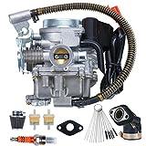 139QMB Carburetor for GY6 49cc 50cc 4 Stroke...
