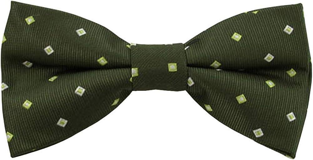 Jacob Alexander Men's Pattern Pre-Tied Bow Tie