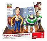 Disney Toy Story Woody & Buzz Figures, 7' - 2 Pack