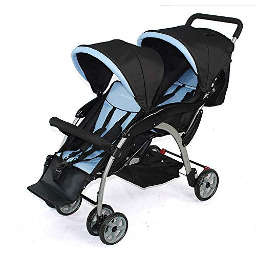 White Tandem Stroller Net Baby Net Tandem Stroller Bug Cover Double Stroller Accessories Mosquito Net for Baby Double Strollers Bclaer72 Universal Size Double Stroller Mosquito Net