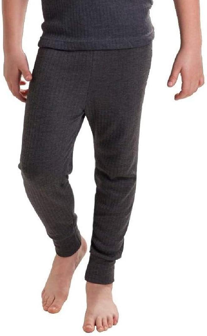 Octave 3 Pack Boys Thermal Underwear Long Johns/Pants/Long Underwear