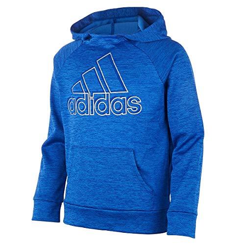 adidas Mädchen Pullover Sweatshirt - Blau - Small