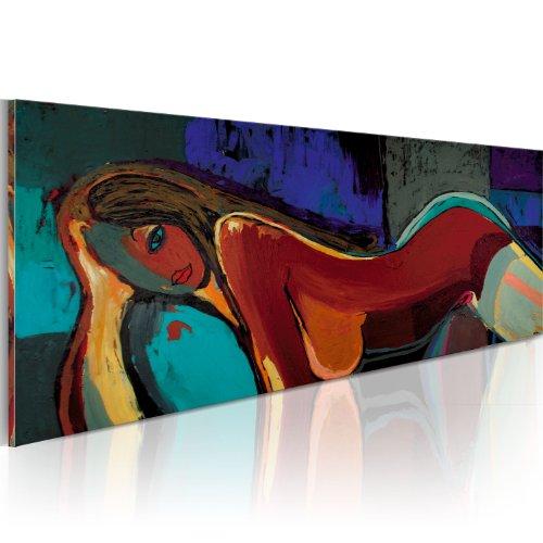 murando Cuadro Pintado a Mano 120x60 cm Arte Moderno Cuadros en Lienzo Original Pintura Decoracion de Pared Diseno Único Hecho a Mano figurativo - 41266