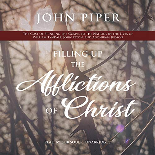 Filling up the Afflictions of Christ Audiobook By John Piper cover art