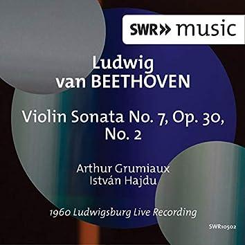Beethoven: Violin Sonata No. 7 in C Minor, Op. 30 No. 2 (Live)