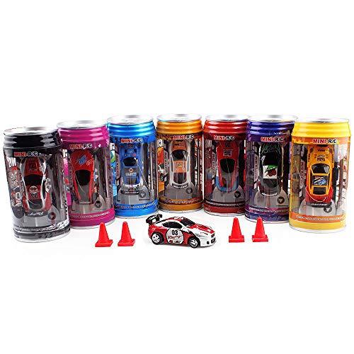Remote Control car,Pocket Racer Mini RC Car,Random Color (Random Control Frequency)