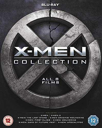 X-Men 8 Film Collection BD [Blu-Ray] [Import]